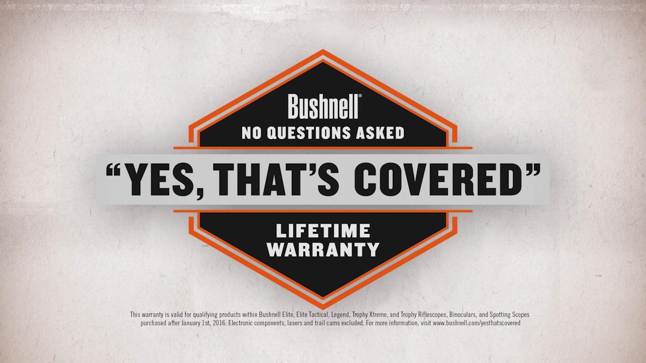 opplanet bushnell 2016 lifetime warranty video