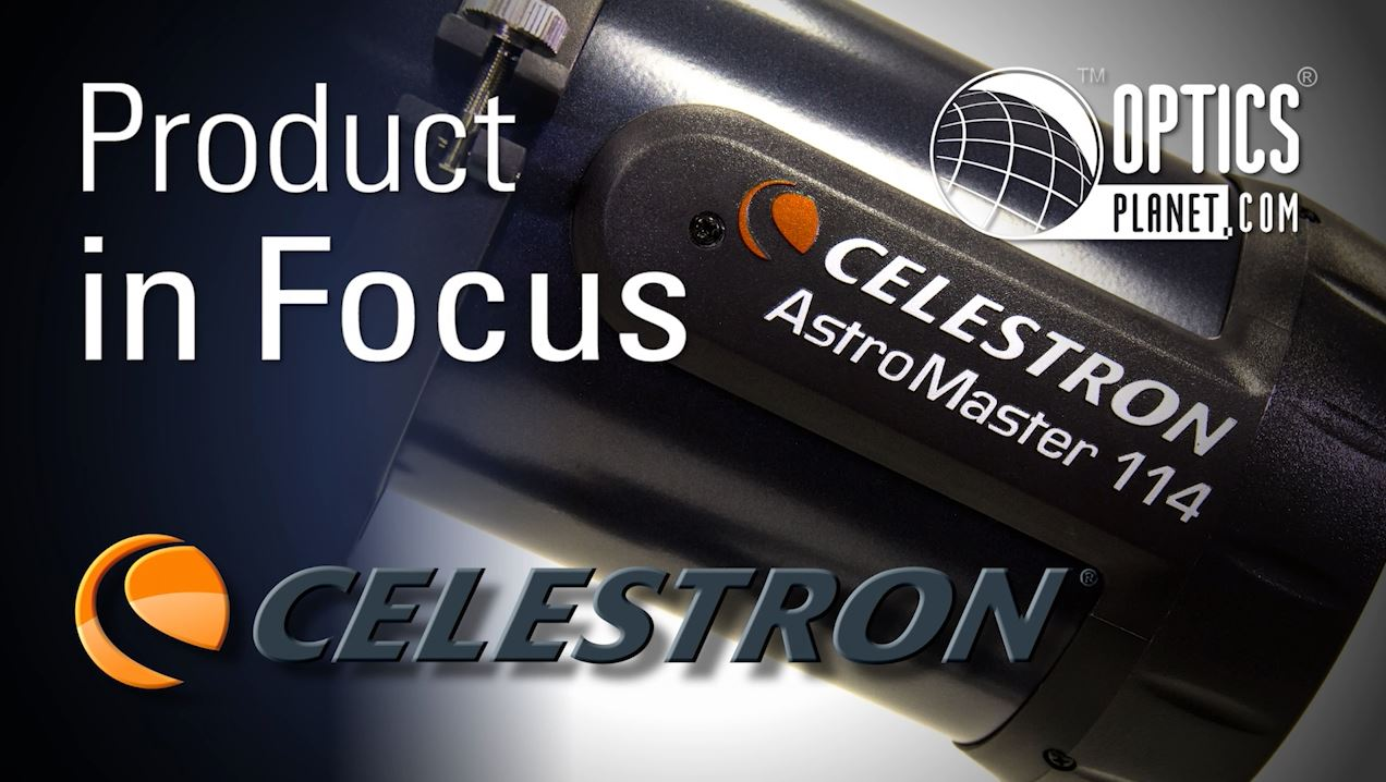 opplanet celestron astromaster 114eq product in focus opticsplanet video