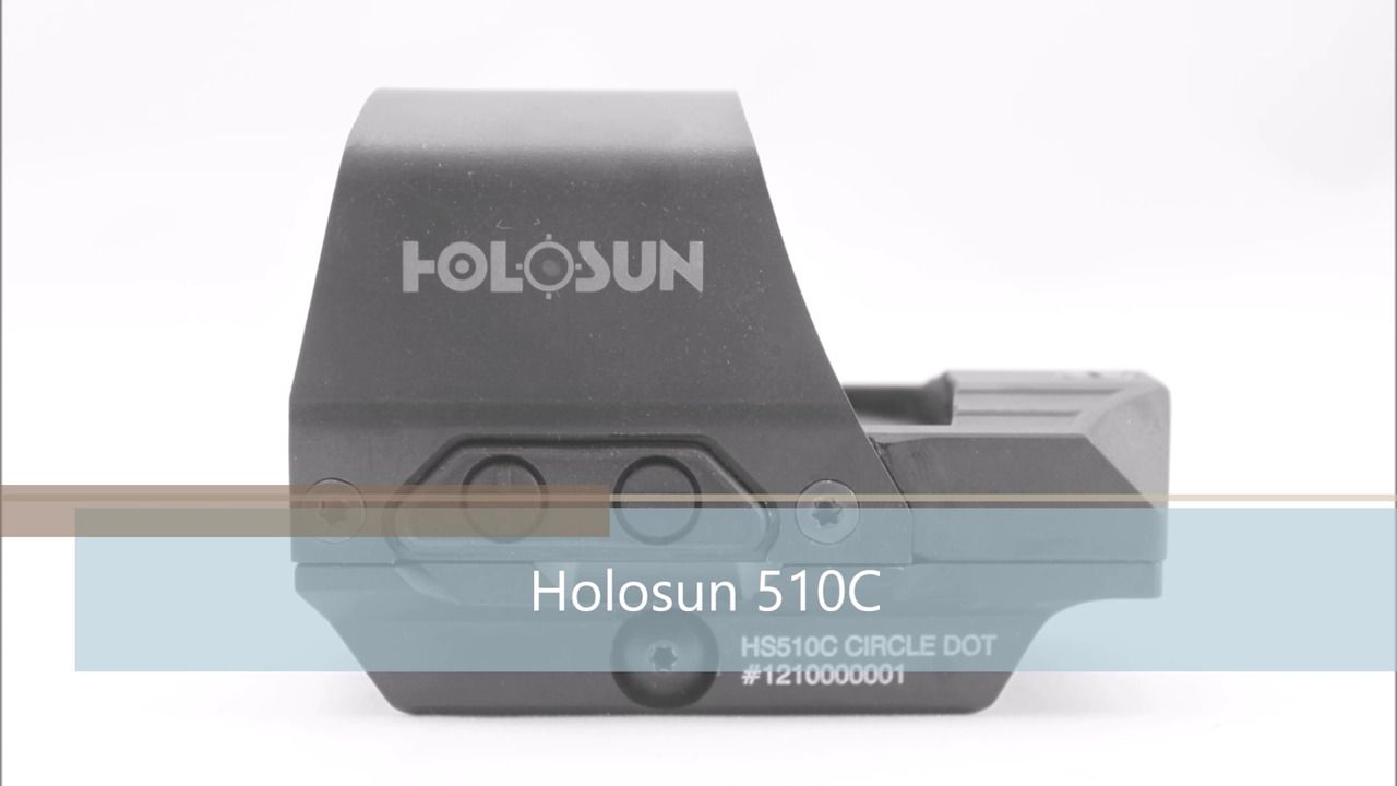 opplanet holosun 510c product video