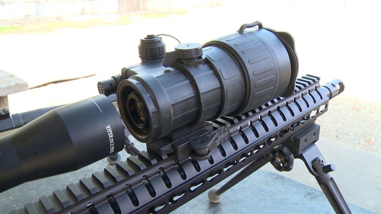opplanet how to mount flir clip on riflescopes video