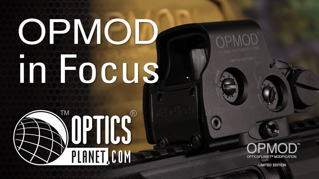 opplanet opmod exps2 red dot sight opmod in focus opticsplanet video