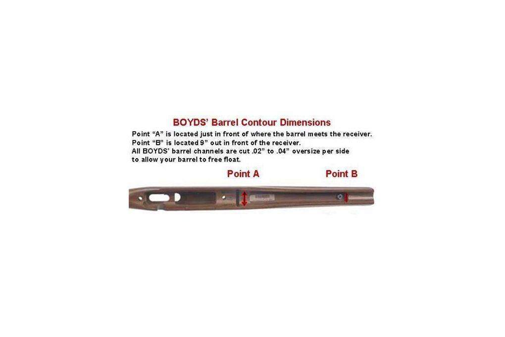 Boyds Hardwood Gunstocks Pro Varmint Howa 1500 Lon - Rifle