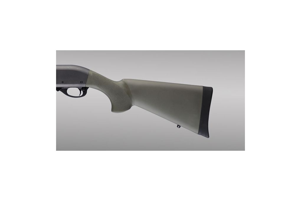 Hogue Overmolded Shotgun Stock for Remington 870, - Shotgun