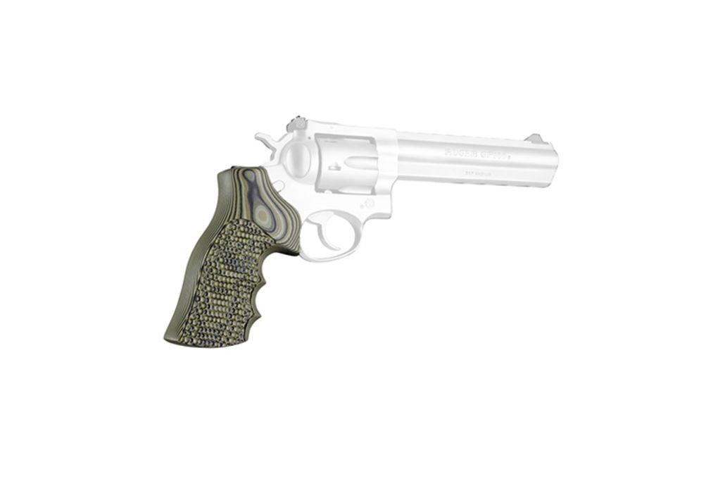 Hogue Ruger GP100/Super Redhawk Grip with Finger G - Pistol