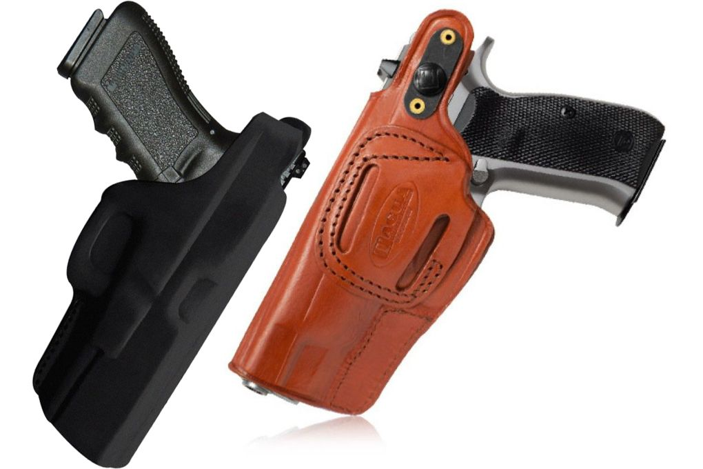 Tagua Gunleather Cross Draw Holster, w/Snap for Be