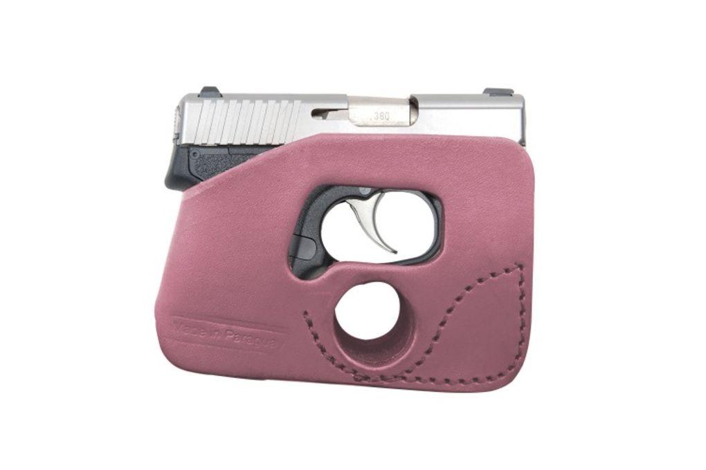 Tagua Gunleather Keltec 380, Pink, Ambidextrous Ho - Holsters & Gun