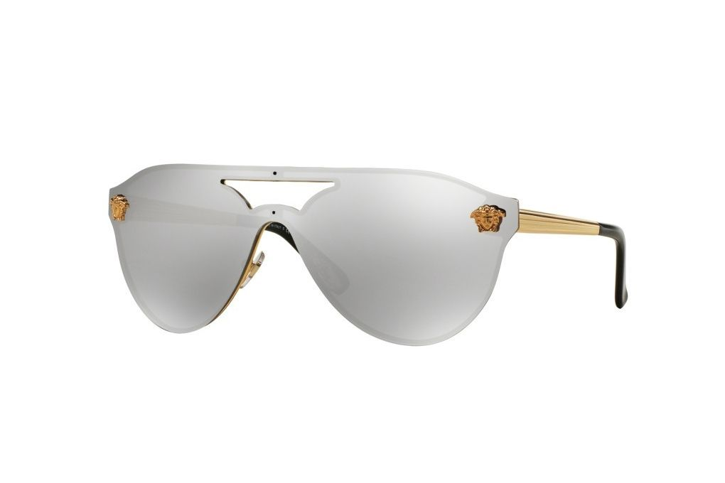 Versace Sunglasses Gold Frame : Versace VE2161 Sunglasses 10026G-42 - Gold Frame ...