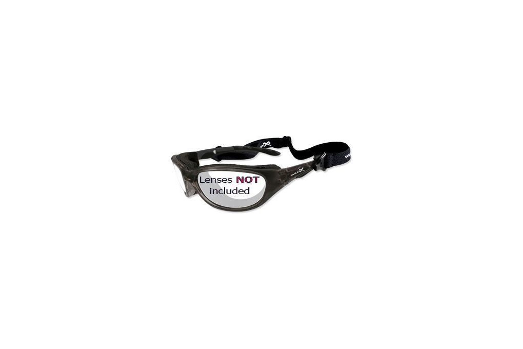 3a26d3569ff Wiley X AirRage Replacement Parts - Gloss Black Fr - Eyewear at ...