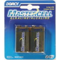 Dorcy 9V Mastercell Alkaline Battery - 2 Per Card 41-1611