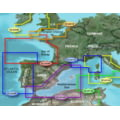 Garmin On The Water GPS Cartography BlueChart g2 Vision: Europe South Atlantic Coast Regular Map