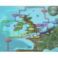 Garmin On The Water GPS Cartography BlueChart g2 Vision: UK/Ireland/France Regular Map
