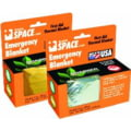 Grabber Emergency Space Blanket, Orange