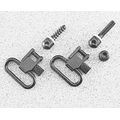 "Uncle Mike's Machine Screw Type QD-115 Swivels w/ 1"" or 1 1/4"" Loops"
