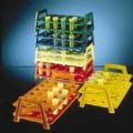 Nalge Nunc Microcentrifuge Tube Racks, ResMer Resin, NALGENE 5973-0015