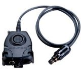 3M Peltor Push-To-Talk Adaptor 10-ft Straight Cable