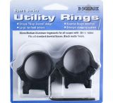 B-Square Sport Utility Rings - 30mm Standard Dovetail - Medium, Blue 20064