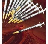 BD Single-Use Syringe/BD PrecisionGlide Needle Combinations, Sterile, BD Medical 309572 Bd Luer-Lok Tip, 0.1 Ml