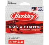 Berkley Solutions Spinning Monofilament 250 Yards, Green Mist