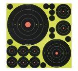 Birchwood Casey Shoot-N-C Self-Adhesive Targets Variety Pack 50 Targets 50 Pasters 34018