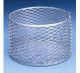 Black Machine Baskets, Aluminum A301/H Rectangular