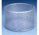 Black Machine Baskets, Aluminum A301/I Rectangular