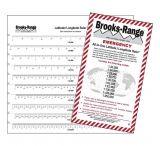 Brooks-Range All-in-one Latitude/longitude Ruler