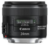 Canon EF 24mm f/2.8 IS USM Wide Angle Lens w/ Image Stabilizer