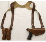 Cebeci Arms LHS 1911 and All Clones Leather Horizontal Shoulder Holster