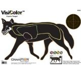 Champion Traps and Targets VisiColor Coyote High-Visibility Paper Targets - 45821
