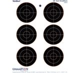 Champion Traps and Targets VisiShot 6 3-inch Bullseye Targets - 45803