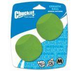Chuckit! Erratic Balls Md 2 Pack, Medium