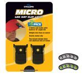 Cyclops Micro Clip-On Hat Light 5 White LED Bulb