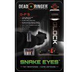 Dead Deer DR4682 Snake Eyes Sight Set Tritium Front/Rear Glock Orange/Green