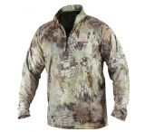 Dead Deer Mens Torid Quarter Zip Shirt