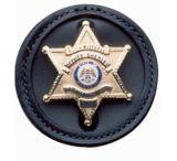 DeSantis Black - Plain - Sheriffs Star Badge Holder U22BZG7Z0