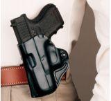 DeSantis Left Hand Black Top Cop Holster 037BB77Z0 - SPRINGFIELD XD9, XD40 3in.
