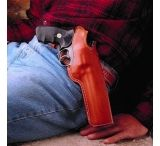 DeSantis Left Hand Tan Lined Dual Angle Hunter Holster 016TDP5Z0 - TAURUS JUDGE 3in. (2.5in. & 3in. CYLINDER)
