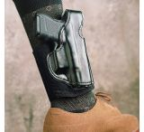 DeSantis Left Hand Black Lined Die Hard Ankle Rig Holster 014PDL7Z0 - S&W M&P COMPACT 9/40