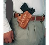 DeSantis Right Hand Tan Mini Scabbard Holster 019TA21Z0 - SPRINGFIELD 1911-A1 5in.