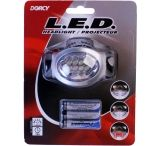 Dorcy 2-aa Adventure Waterproof Headlamp w/ H.D. Batteries 41-2095