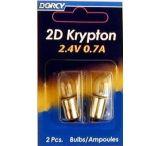Dorcy 2D Krypton Bulb ( KPR102 ) - 2 Per Card 41-1660