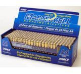 Dorcy AA Mastercell Alkaline Batteries - 24 Per Tray 41-1631
