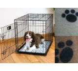 Drymate Crate or Kennel Pad, Paw Print Design