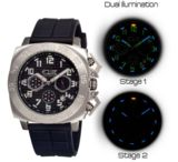 Equipe Tritium Push Mens Watch