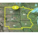 Garmin Topo U.S. 24K Detailed Northern Plains Map, microSD/SD card