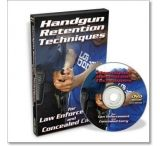 Gun Video DVD - Handgun Retention Techniques X0516D