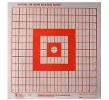 Hoppe's 9 100yd. Sighting Target 1in. 14 x 14 Paper 20pk S5