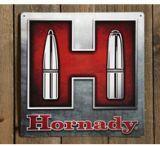 Hornady H Tin Sign