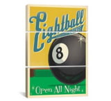iCanvasART Eightball by Anderson Design Group Print, US Made