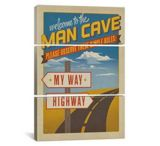 iCanvasART My Way Highway by Anderson Design Group Print, US Made